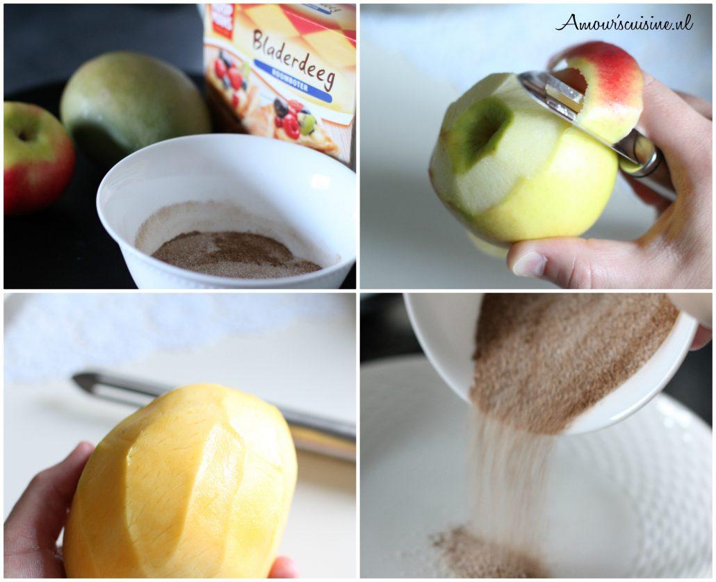 appel mango flappen